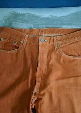 Мужские джинсы levis orange