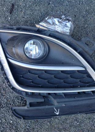 Противотуманка туманка в бампер Mazda Мазда 6 2011