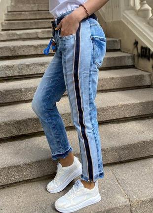 Невероятные стильные джинсы женские жіночі джинси