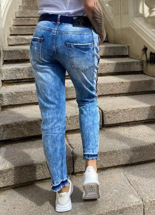 Шикарные джинсы женские бойфренды джинси жіночі
