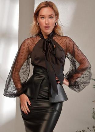 Блуза 31041 черный