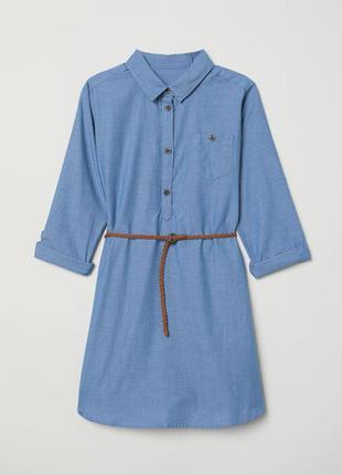 Джинсовое платье logg h&m рост 152см  11-12 лет