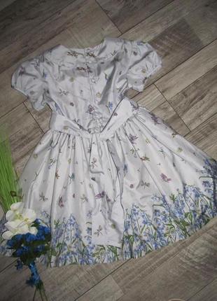 Шелковое платье their nibs англия оригинал на 9лет