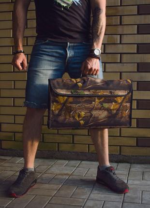 Раскладной мангал чемодан в чехле Подарок