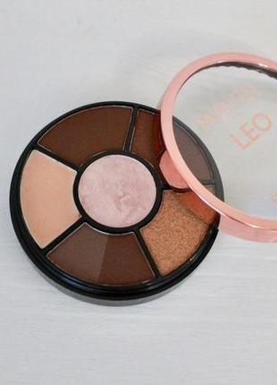 Дорожная палетка для макияжа коричневый смоки айс makeup revol...