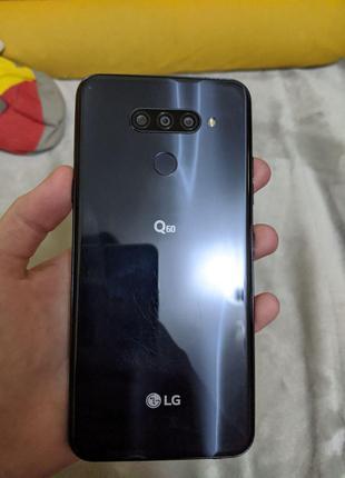 Смартфон LG Q60 Blue