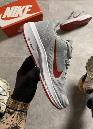 Nike runner 2 gray/red.