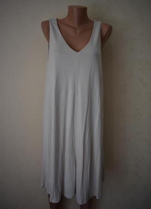 Новое трикотажное платье h&m
