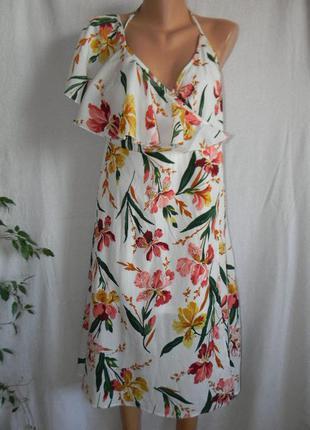 Новое стильное платье на запах boohoo
