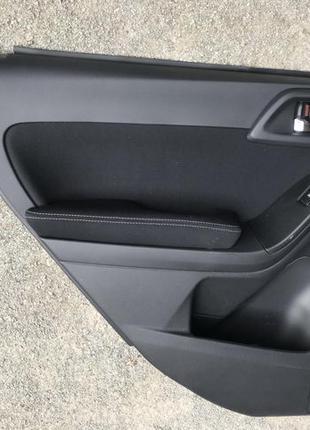 Карта обшивка двери задней Subaru Forester Субару Форестер 2016