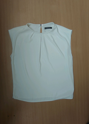 Белая блуза Mango 36 р.s