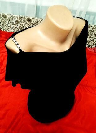 Блузка топ с открытыми плечами и кристаллами сapricho бразилия...
