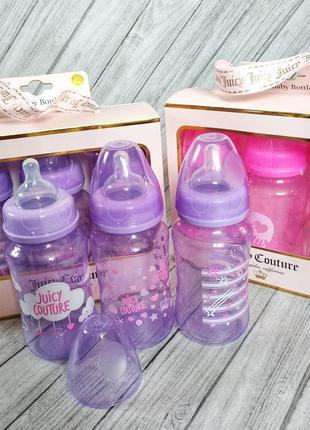 Juicy couture бутылочки для кормления