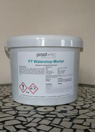 PT Water-Stop Mortar (12 кг) гидропломба/гидропробка