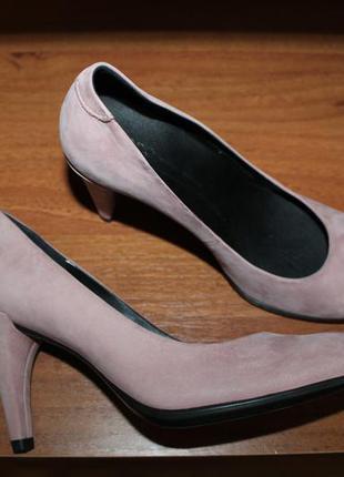 Ecco shape 75 sleek оригинал кожаные туфли