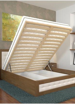 """Нові ліжка з сосни та буку від """"Арбор Древ"""" зі складу, кровати."""