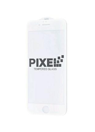 Защитное стекло full screen 3D Pixel iphone 6/6s белое white