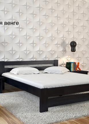 Ліжко нове «Симфонія» з сосни, 160/200. Кровать сосновая новая.