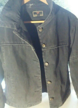 Пиджак ,жакет джинс, оригинал giorgio armani