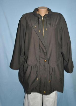 Куртка женска, парка большого размера