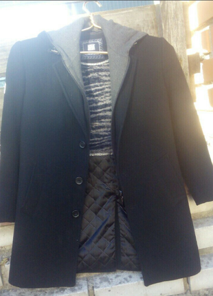 Пальто, шерсть /кашемир для мальчика в 1 класс
