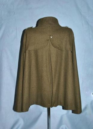 Шикарное,новое пальто прямого кроя