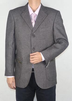 Распродажа -50% классический мужской пиджак на три пуговицы