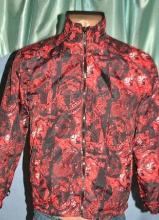 Распродажа -50% куртка,ветровка на подростка двухсторонняя