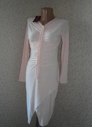 Платье с длинным рукавом missi