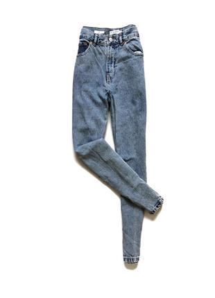 Мом джинсы, mom джинс, мам pull&bear