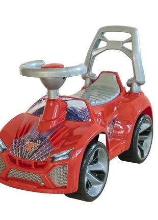 Машинка для катания Ламбо красная