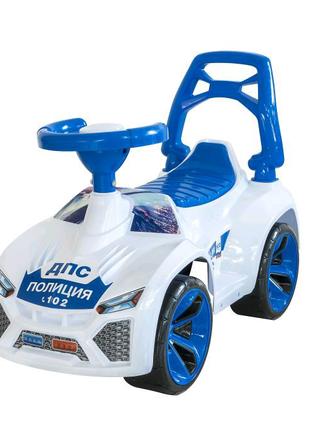 Машинка для катания Ламбо белая