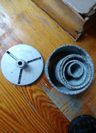 Корундовая коронки bosch, для плитки