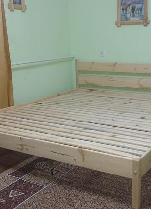 """Ліжко дерев'яне: """"Без викрутасів, версія 2.0"""""""