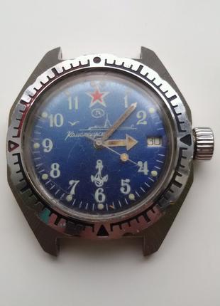 Часы командирские амфибия, годинник Восток