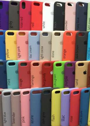Силиконовый чехол на Apple iPhone