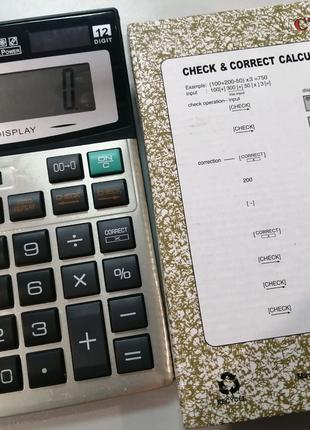 Калькулятор CT-912