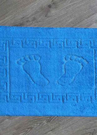 Коврик для ванной комнаты прорезиненные ножки 45*65