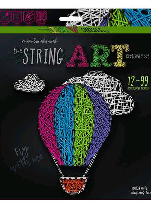 """Набор креативного творчества """"String Art: Воздушный шар"""""""