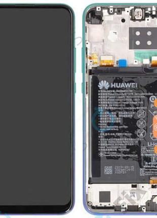 Оригинальный дисплей с рамкой и акб для Huawei P40 Lite E ART-L29