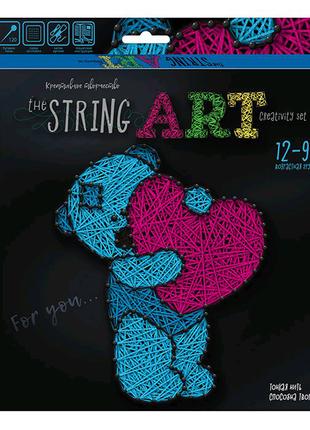 "Набор креативного творчества ""String Art: Мишка"""