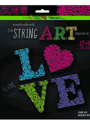 """Набор креативного творчества """"String Art: Love"""""""