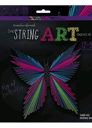 """Набор креативного творчества """"String Art: Бабочка"""""""