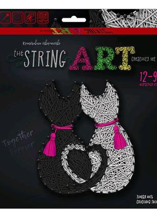 """Креативна творчість """"The """"STRING ART"""" Котики"""
