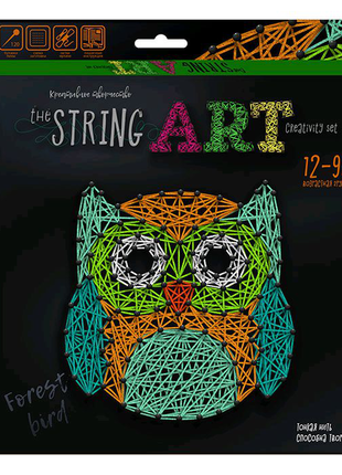 """Набор креативного творчества """"String Art: Сова"""""""