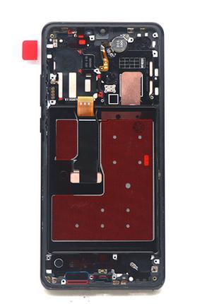 Дисплей в рамке OLED для Huawei P30 (ELE-L29) Black оригинал