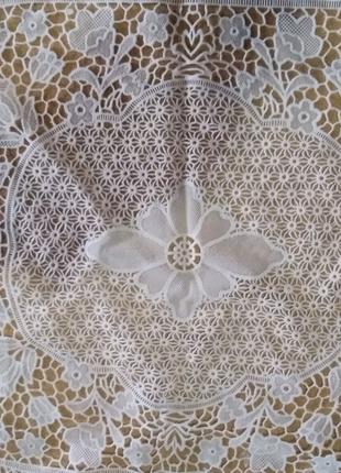 Салфетка виниловая ажурная , размер 60х40 см