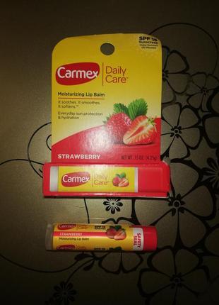 Carmex стик клубника strawberry
