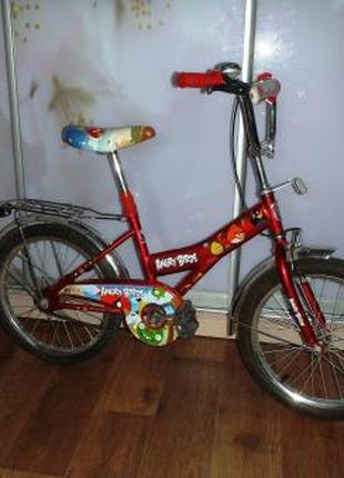 Велосипед детский (4 - 10 лет) Angry Birds.