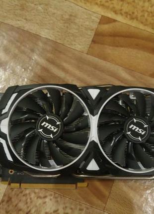 Видеокарта msi модель GeForce GTX 1060 ARMOR 3G OCV1